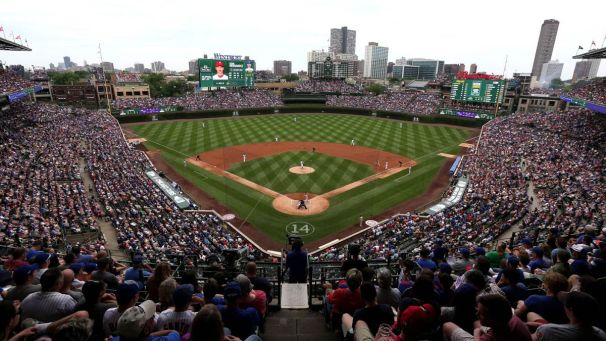 Wrigley Field. Getty Images. Friday