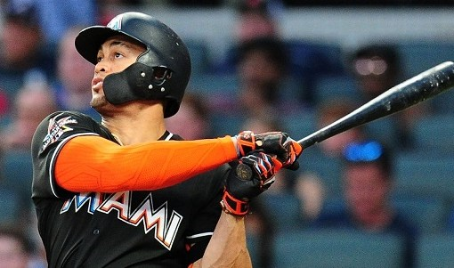 Giancarlo Stanton on pace to hit 63 home runs