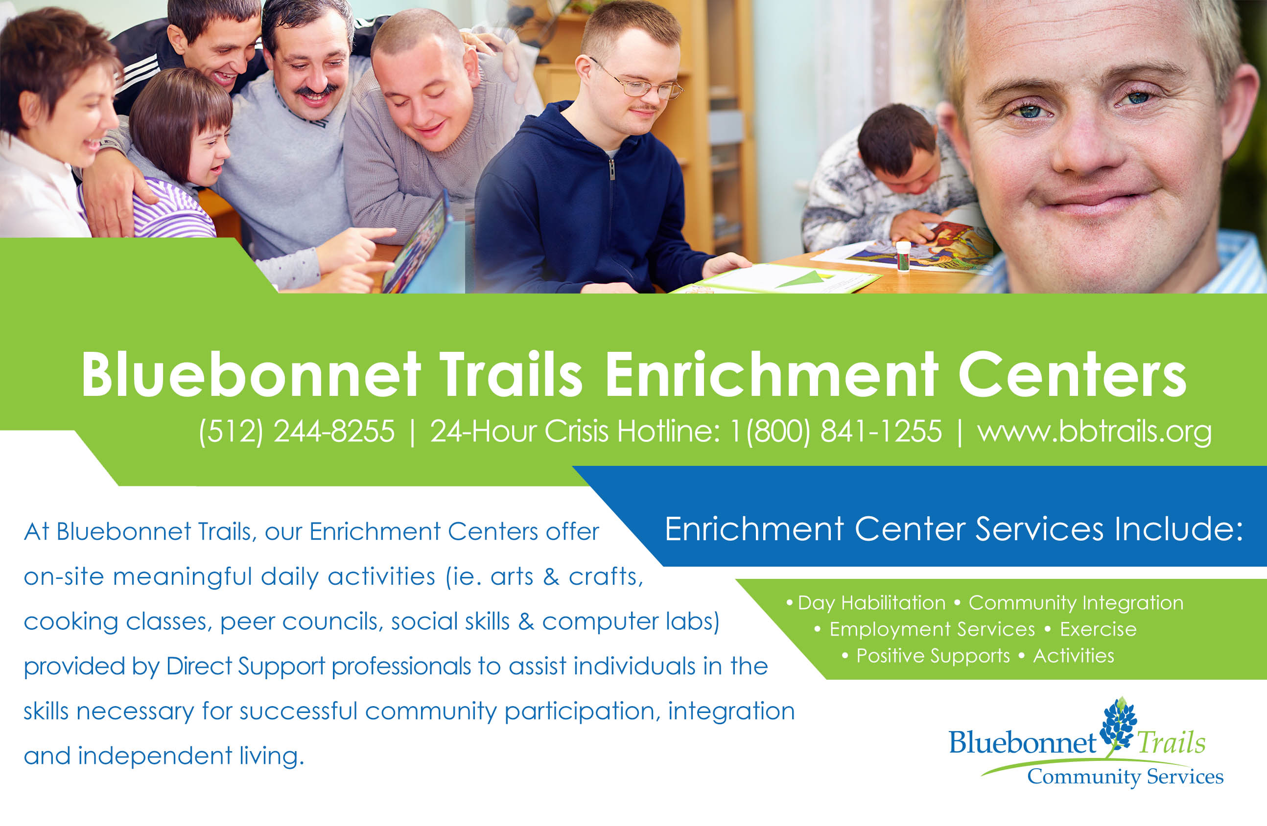 Intellectual Developmental Disabilities Services IDD Bluebonnet