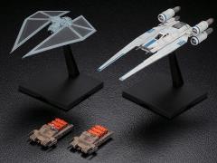 Star Wars U-Wing Fighter & TIE Striker (Rogue One) 1/144 Scale Model Kit