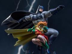 The Dark Knight Returns Batman & Robin (Frank Miller Edition) 1/10 Art Scale Statue