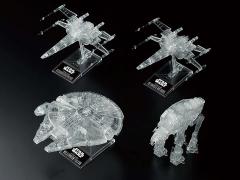 Star Wars: The Last Jedi Clear Vehicle Model Set