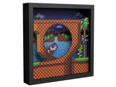 Sonic The Hedgehog Pixel Frames Loop Scene (9x9)