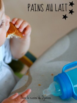 Pains au lait vegan pour bébés
