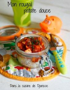 Vegan : Rougail patate douces pour bébés dès 8/9 mois