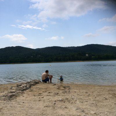 Découverte du lac où Maman allait étant enfant