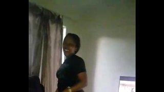 Nigerian girl dancing naked for her boyfriend