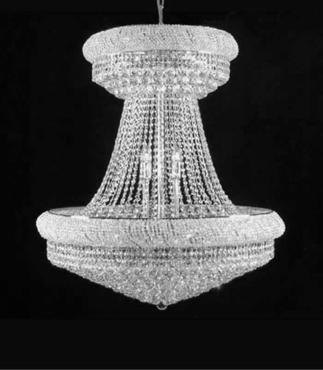 Chandeliers With Swarovski Crystals Custom Designed To Suit Your Home