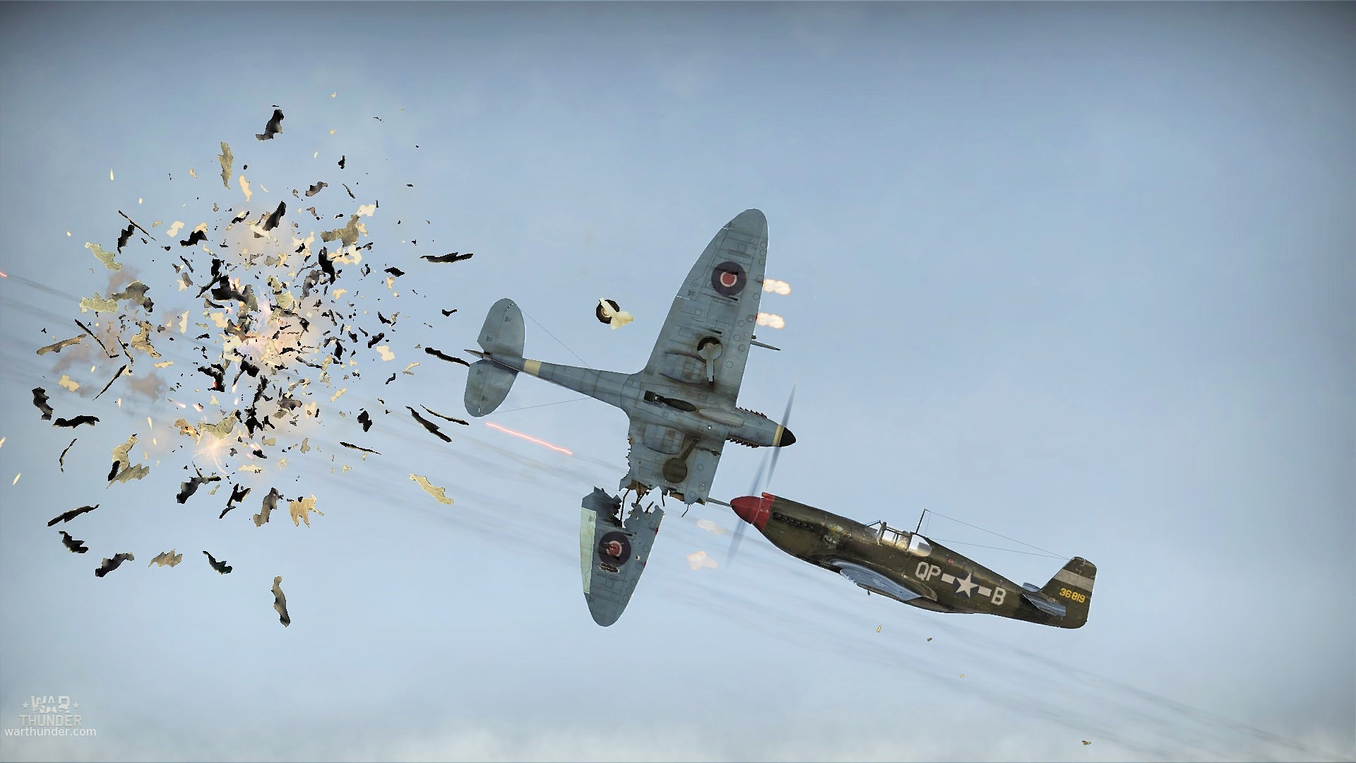 The Epitome Of A Close Call In War Thunder BC GB
