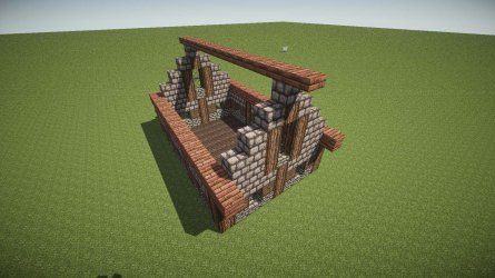 minecraft cottage build cosy very gb bc own extents upper lower