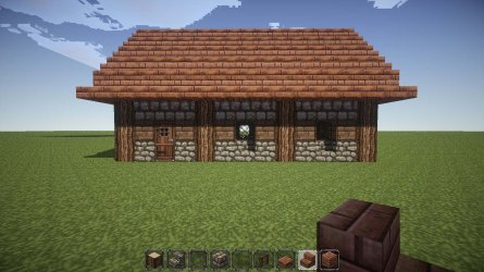 minecraft cottage build cosy stage very own gb bc complete