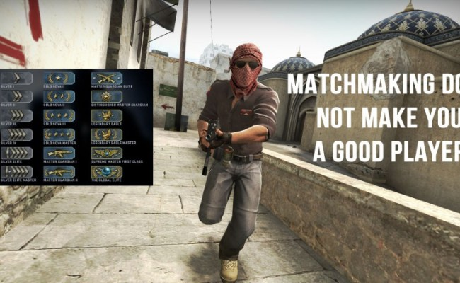 If You Think Being Good At Matchmaking Makes You A Good