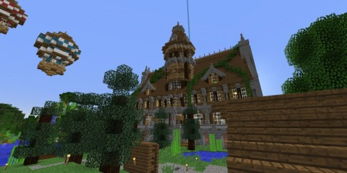 minecraft town hall build awesome gb bc comment