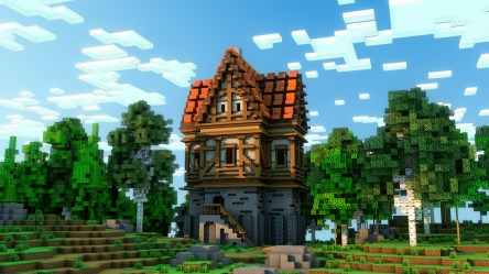 minecraft medieval buildings awesome builds gb bc built while build