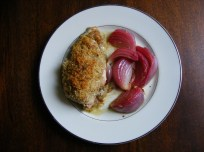 Swiss Chicken Supreme with Rosemary Roasted Onions
