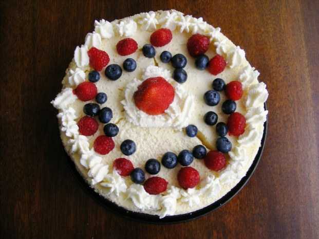 Bastille Day Cheesecake