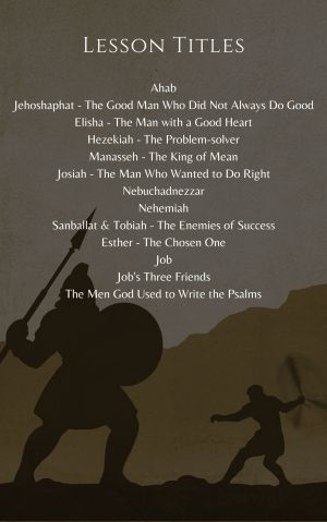 Bible Characters for Children – Volume 4