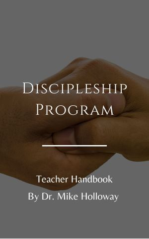 Discipleship Program – Teacher Handbook