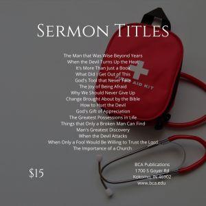Psalms – God's First Aid Kit – Volume 9