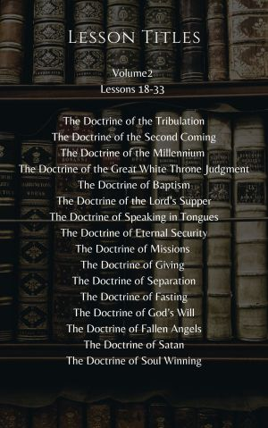 Doctrines that Matter – Volume 2