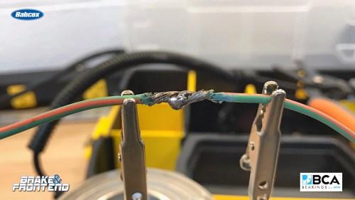 small resolution of repairing wheel speed sensor wiring harnesses part 2