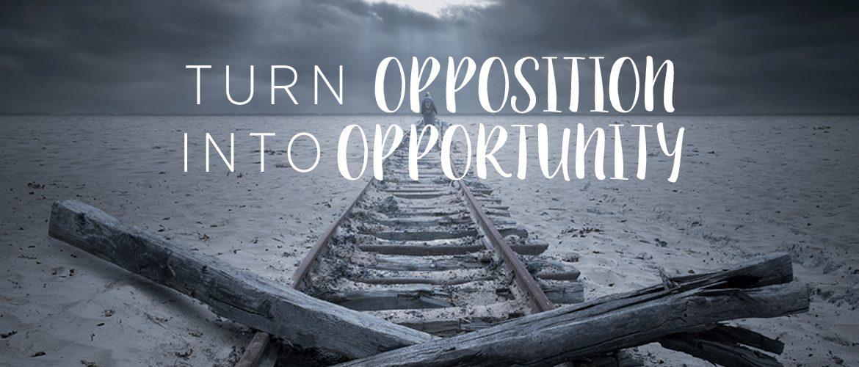 Image result for opposition vs opportunity