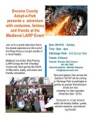 1st Annual Medieval LARPing Event Poster
