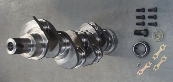 Коленчатый вал в сборе Д3900 B41243421 , коленвал для болгарского погрузчика Балканкар, коленвал в сборе для двигателя Perkins D 3900