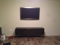 IKEA Besta storage as custom Buffet for the Dining Area ...