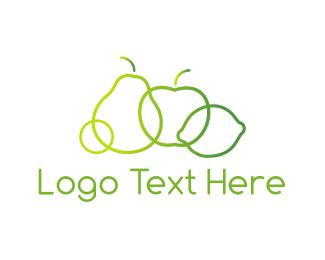 fruit logos fruit logo