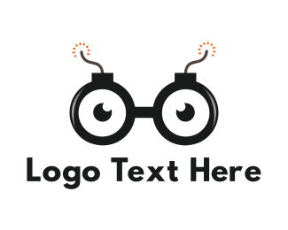 bomb eyes logo