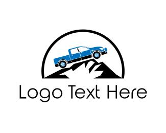 pickup truck logo