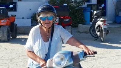 ruth on bikes
