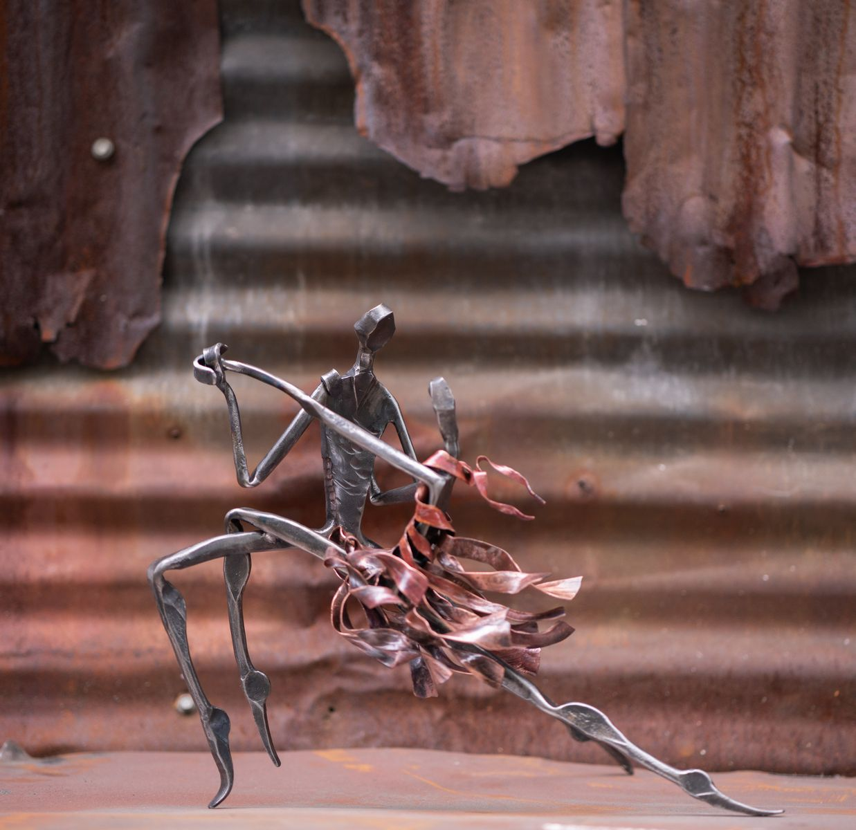 Wrought Iron Sculpture