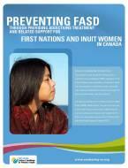 Preventing FASD First Nations Inuit cvr