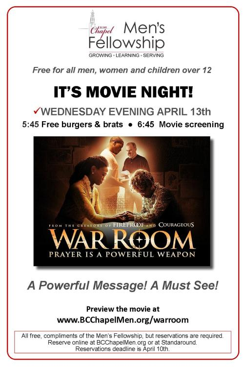 2016 - War Room-Movie Night-LR