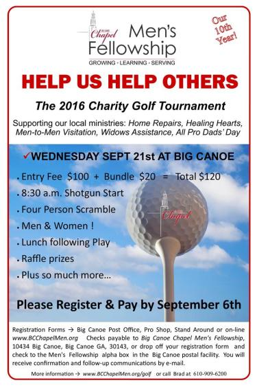 10th Annual Charity Golf Tournament