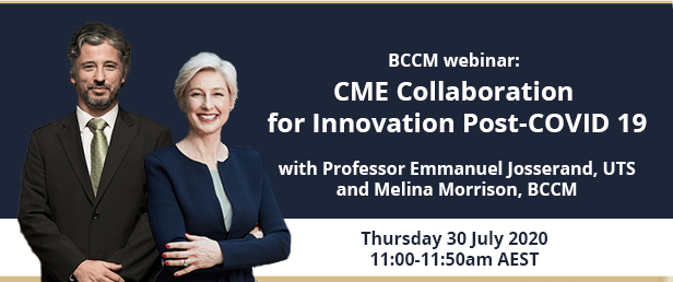 Members-only: CME Collaboration in the wake of COVID19 webinar | Business Council of Co-operatives and Mutuals