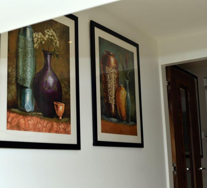 Interior decor artworks
