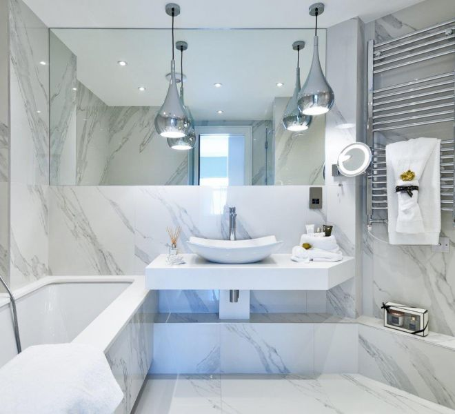 London ensuite Interior Design