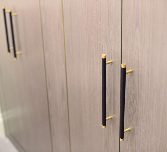 Joinery fixings handles high end interior design in London
