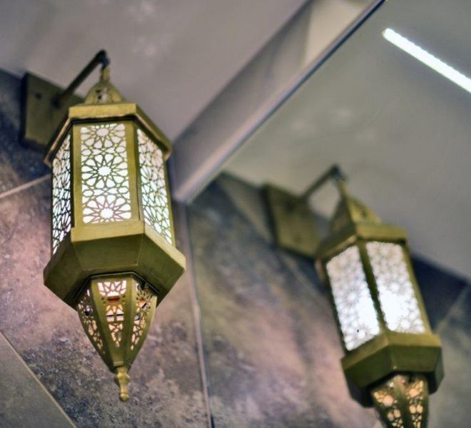 Commercial renovation detail of lighting in London by Brompton Cross Construction
