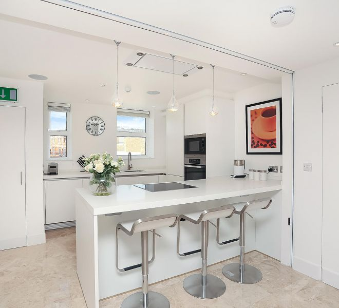 Beautiful kitchen design london