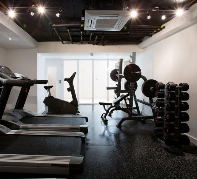 London private gym fit out