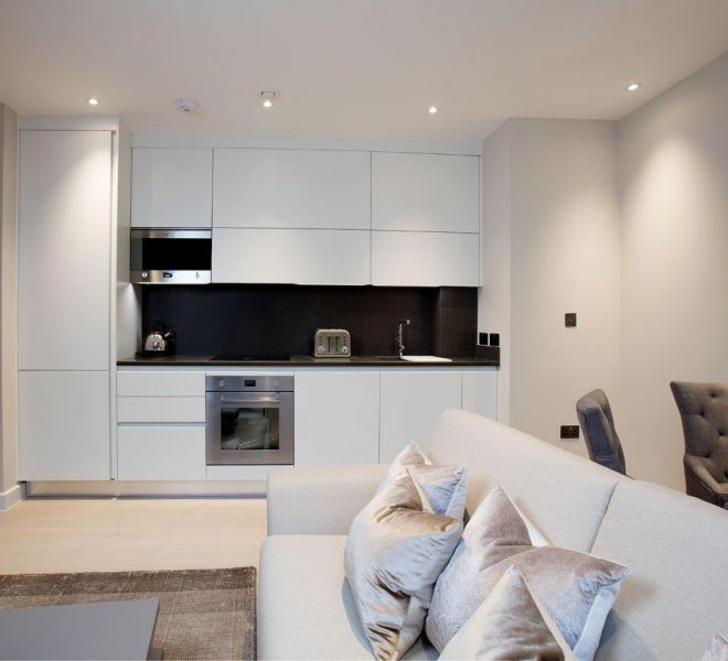 Kitchen design and installation by Brompton Cross Construction