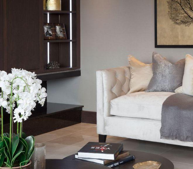 Living room interior design in Paris by BCCSITE