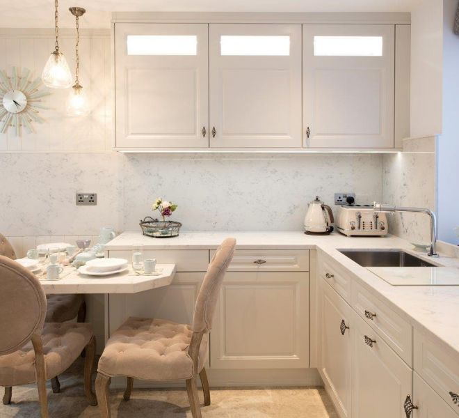 Residential construction french country kitchen