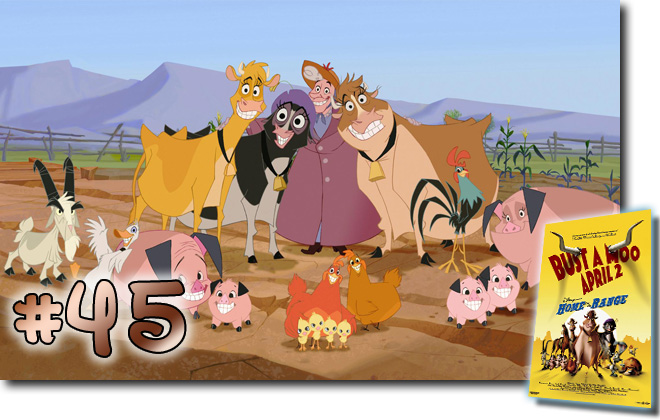 45 Home On The Range: BCDB List of Disney Animated Films