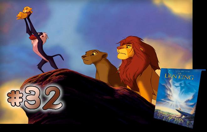 32 The Lion King: BCDB List of Disney Animated Films