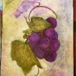 Mixed Media Grapes